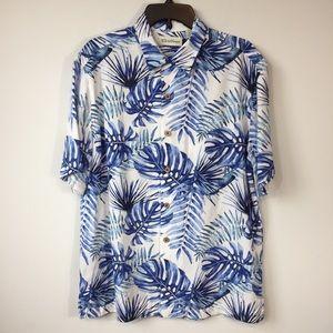 Caribbean Men's Hawaiian Short Sleeve Button Shirt